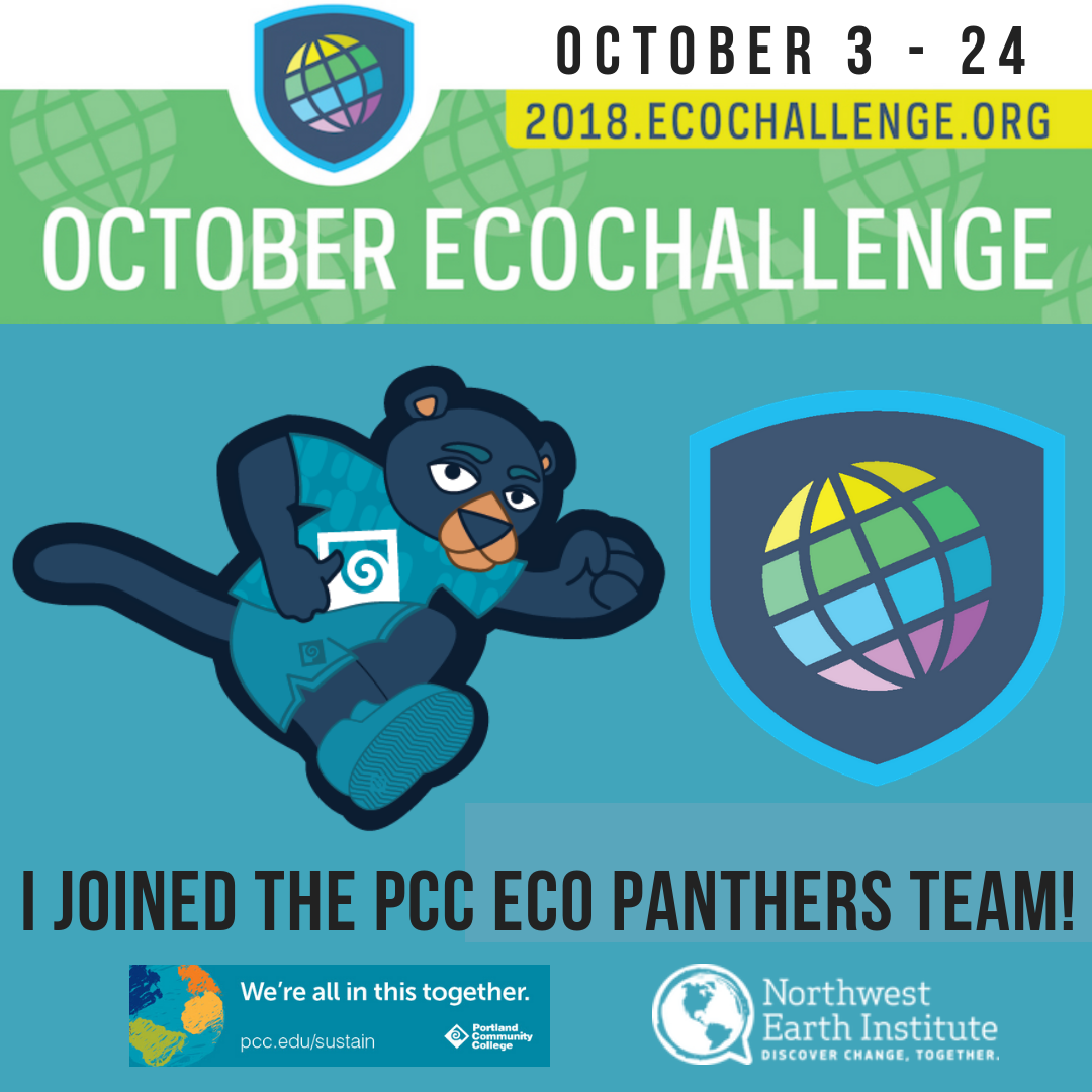 Join PCC in the 2018 Eco Challenge!!