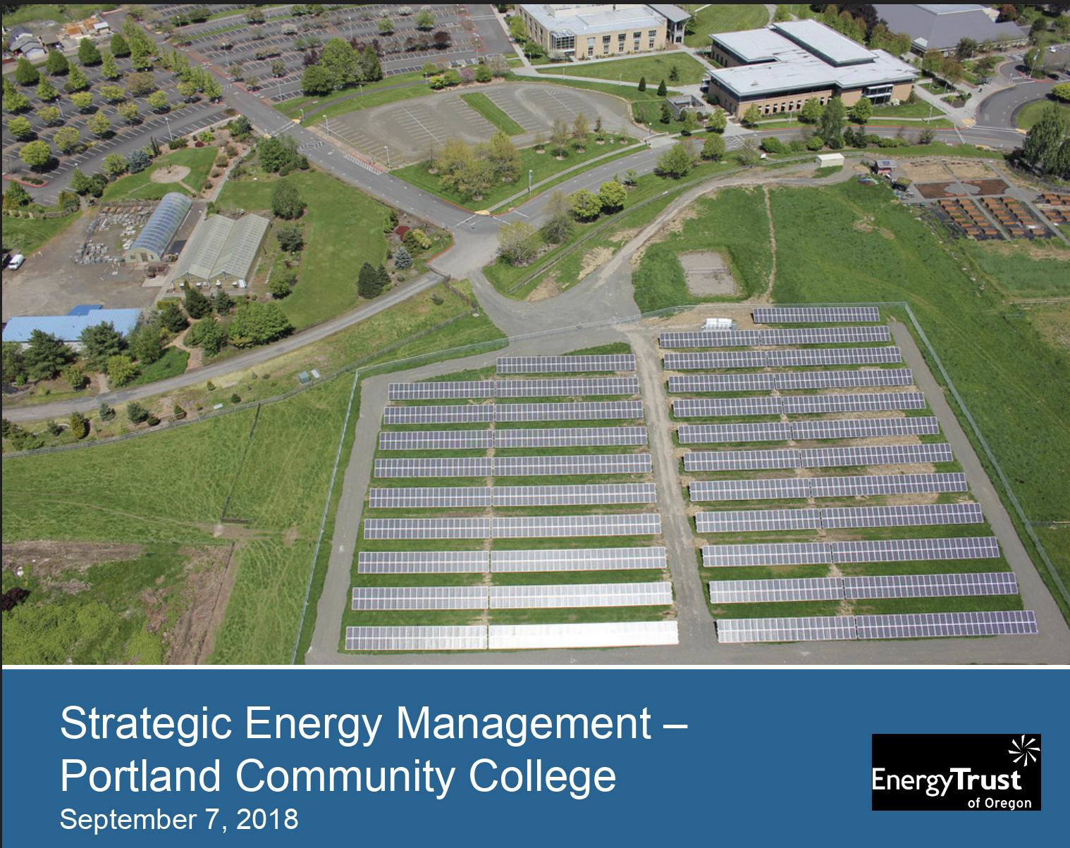 PCC's Strategic Energy Management presentation