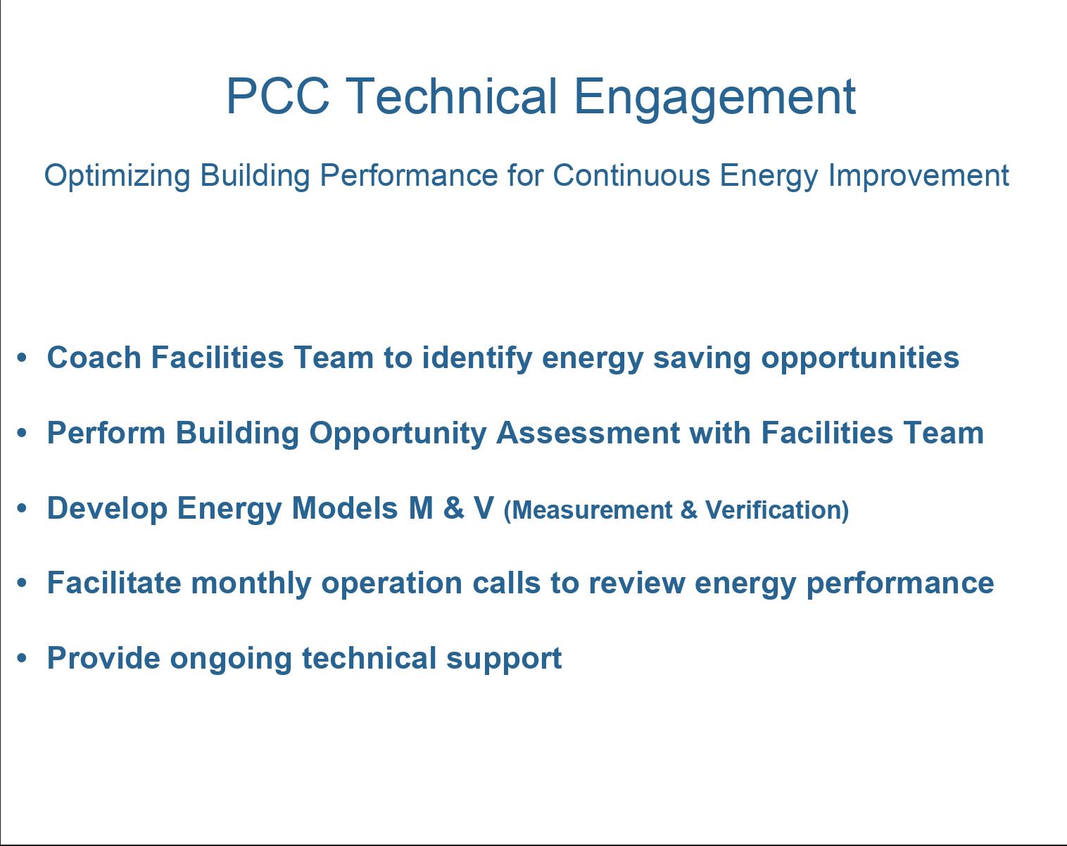 PCC Energy Plan