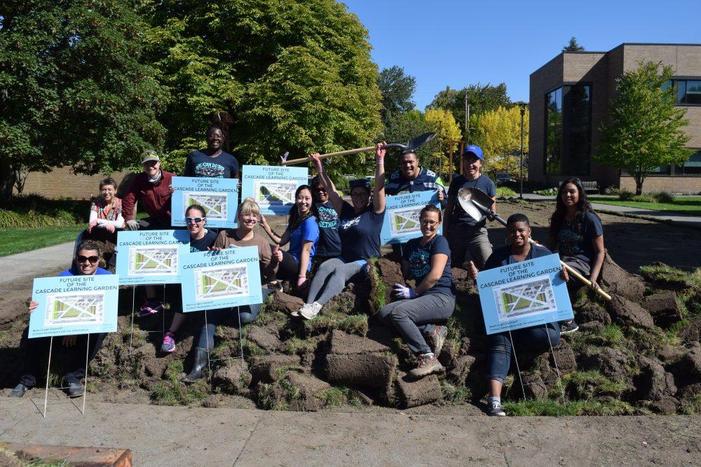 Cascade Urban Learning Garden breaks ground!