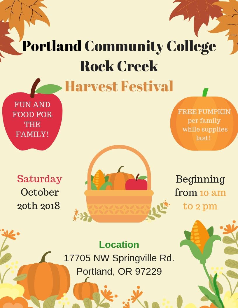 Rock Creek Harvest Fest