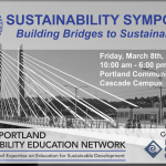 GPSEN Sustainability Symposium ~ RCE Greater Portland