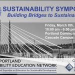 GPSEN Sustainability Symposium ~ RCE Greater Portland