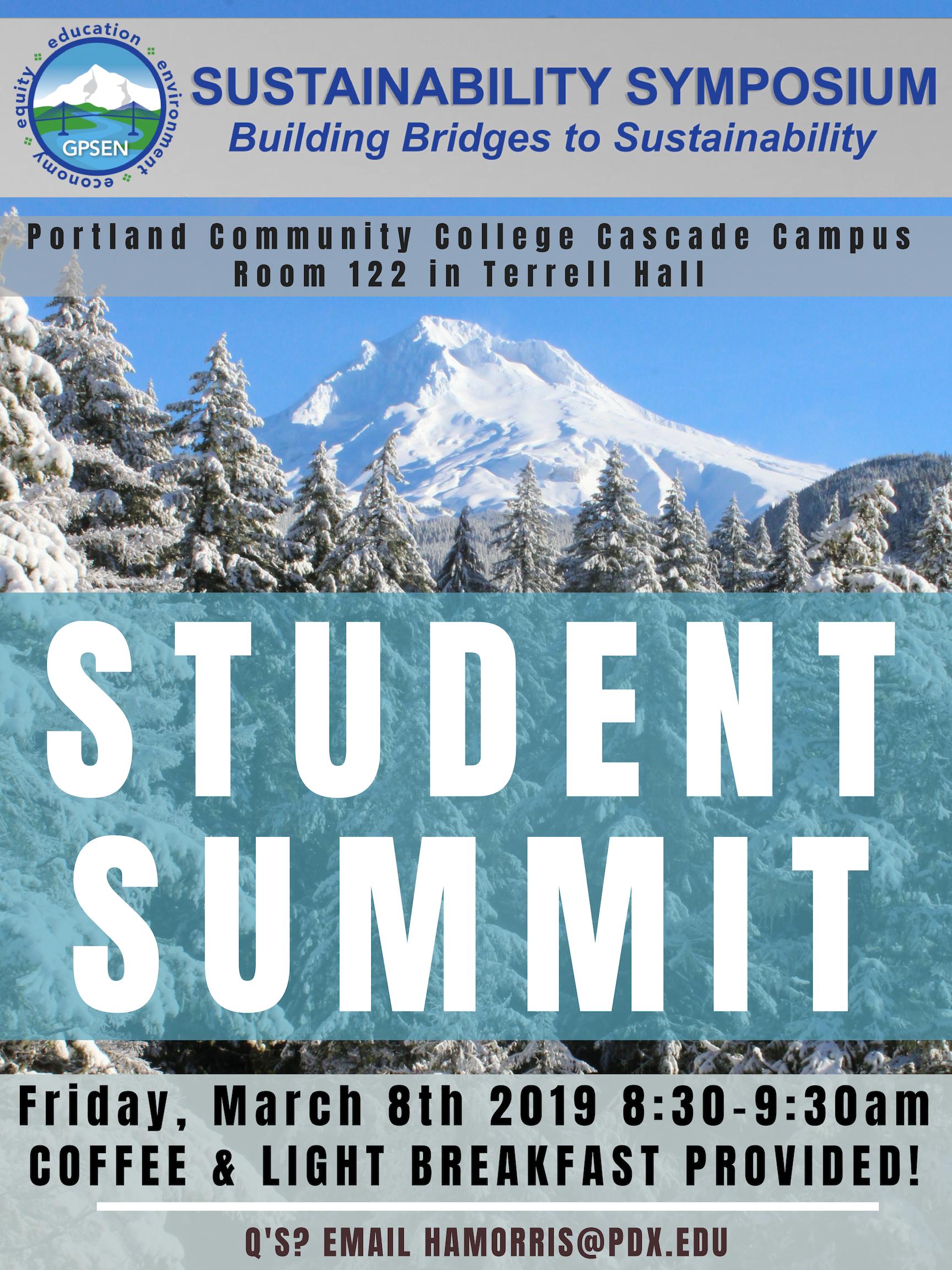 GPSEN Symposium Student Summit