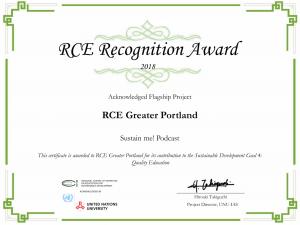 PCC Podcast RCE Award