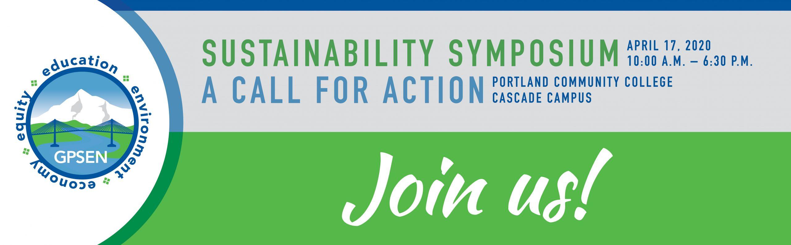 GPSEN Sustainability Symposium 2020