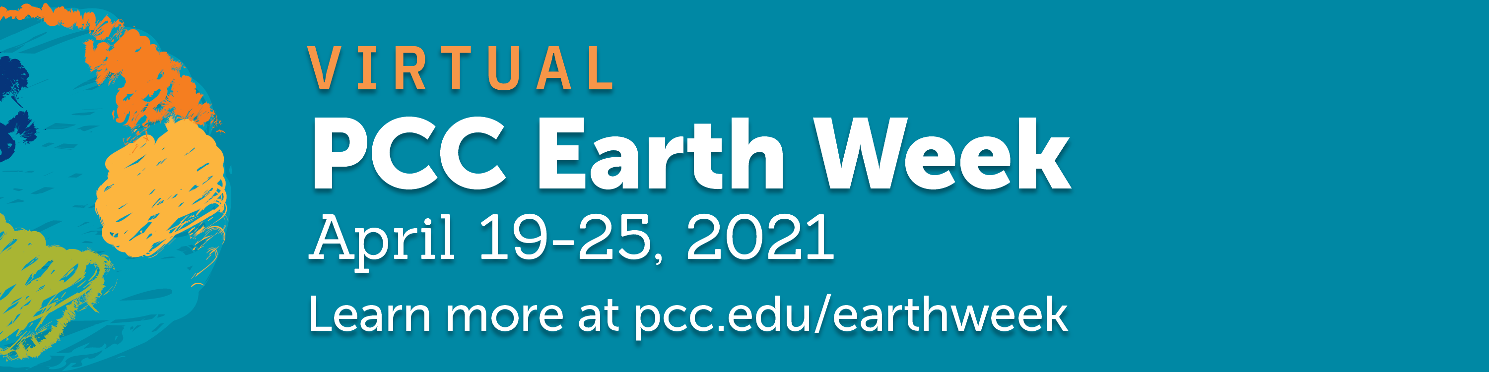 PCC's Virtual Earth Week from April 19th-15th. Click here to visit Earth Week webpage.