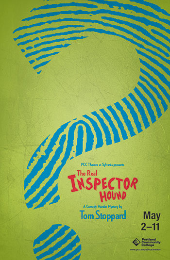 The Real Inspector Hound poster