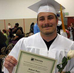Richard, graduate