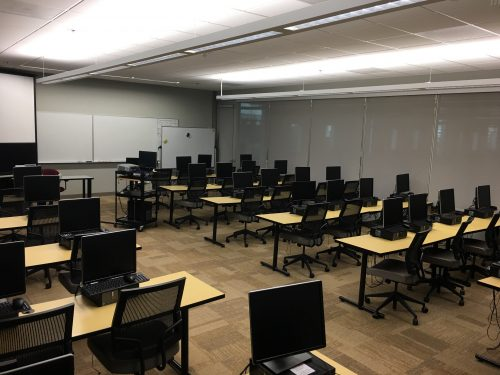 Sylvania Student Learning Center Computer Lab