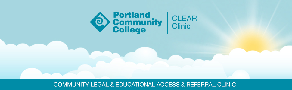 PCC Clear Clinic: PCC Community Legal & Educational Access & Referral Clinic