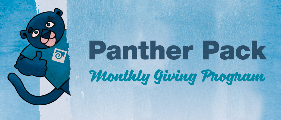 Panther Pack Monthly Giving Program