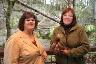 Joyce Kaplan, faculty department chair of the new Biology and Management of Zoo Animals Program, and Kim Smith, director of the Oregon Zoo, both said students will get a big benefit from this program.