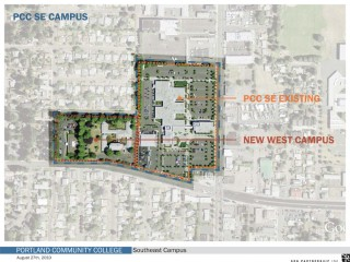 After voters approved PCC's $374 million bond measure in 2008, PCC bought a restaurant, a Kaiser Permanente clinic and the German American Society of Portland building adjacent to the center as part of expansion plans.
