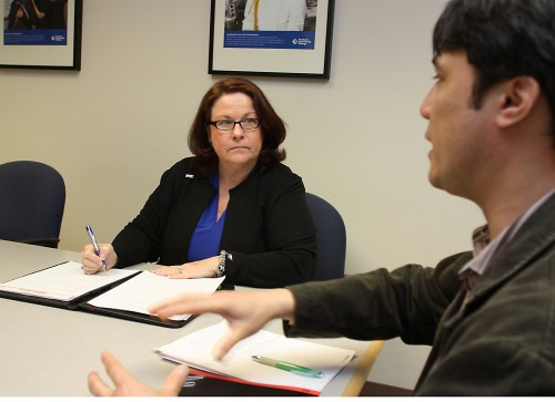 Tammy Marquez-Oldham (PCC's SBDC director) is part of a team providing global business opportunities to small businesses.