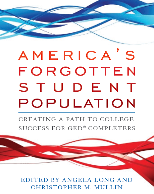 """PCC Links Director Pam Blumenthal contributed a chapter in the book, """"America's Forgotten Student Population."""""""