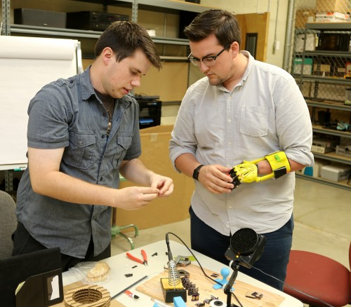 PCC's MakerSpace offers an opportunity for staff and students to collaborate and bring ideas to life, a place where budding scientists, technologists, engineers, artists and mathematicians can find common ground to collaborate on cool ideas.
