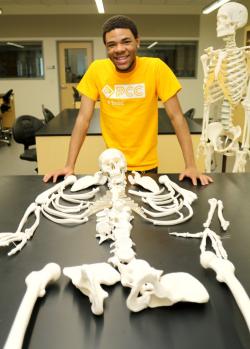 For the 24-year-old Keith Jones, a budding physician and philosopher, the Student Commons represents more space for his science labs and math classes as he works toward an Associate's of Arts Oregon Transfer Degree.