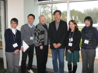 PCC Rock Creek Campus President Sandra Fowler-HIll served as tour guide to esteemed guest from Japan.