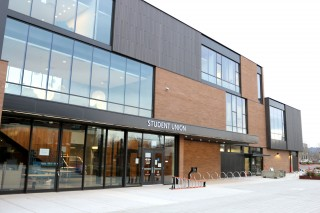 The 36,000-square-foot Student Union replaces the outdated, 1970s-era Student Center.