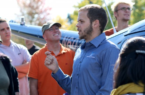 Last fall, Seth Hansen chatted with students in the Aviation Maintenance Technology Program about the Robinson helicopters his company maintains. About 60 percent of his employees are PCC alumni.