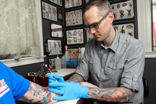 Gilsdorf has taught PCC classes on the art and history of tattooing and the physics and metallurgy of tattoos since 2013. These classes are popular with both artists and community members.
