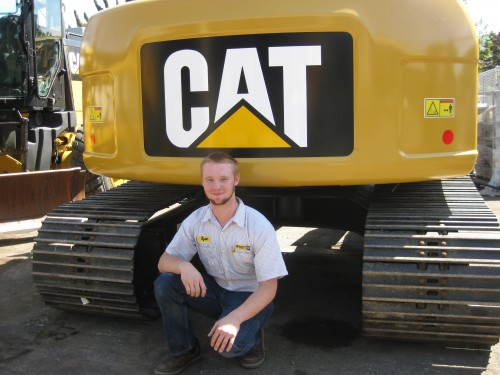 Ryan Walker had to leave his community in Washington state and travel hundreds of miles to Portland in order to earn his degree from PCC. Today, his commute is enviable. The distance between Kennewick and the Caterpillar dealership in Pasco is four miles.