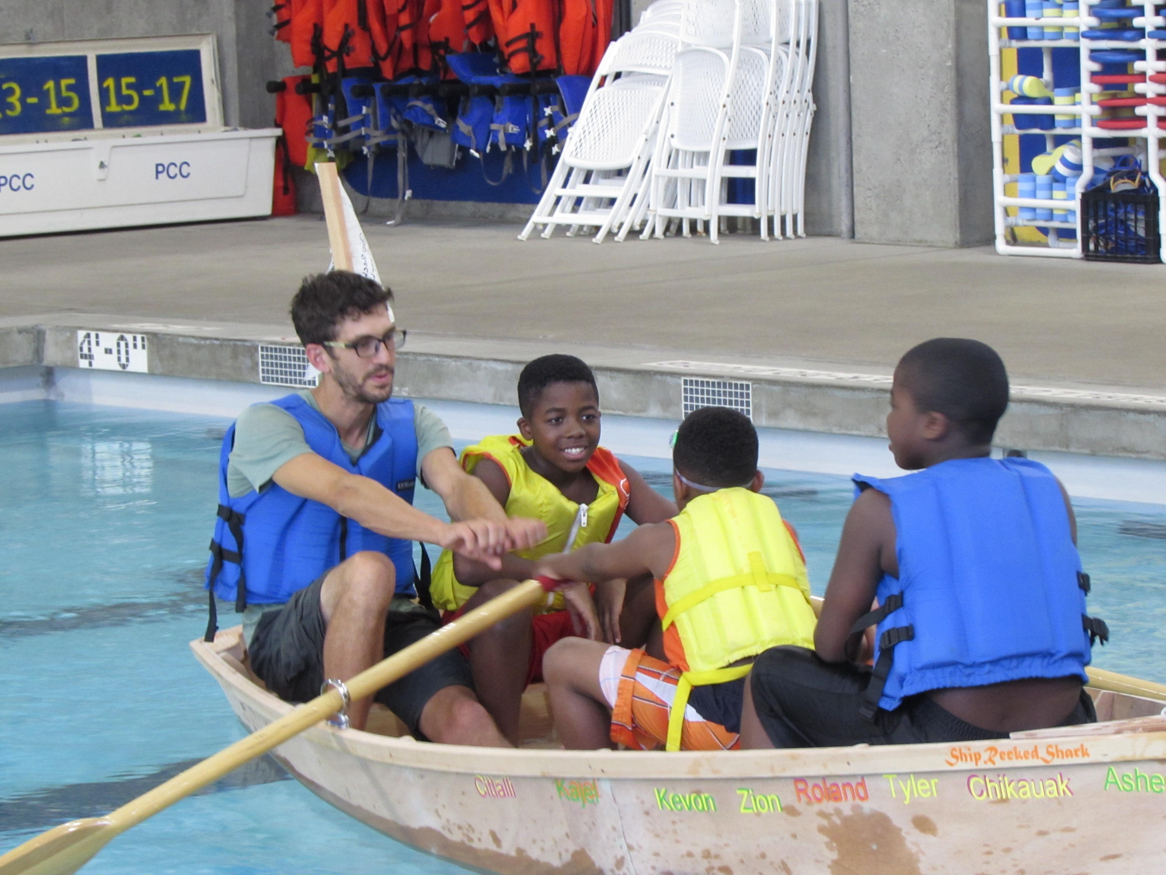 teens build, launch boat at pcc | news at pcc