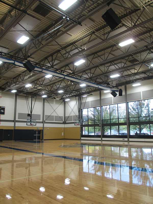 Acoustic Upgrades At Cascade Gym Prove To Be A Sound