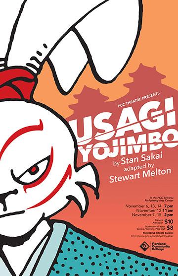 'Usagi Yojimbo' poster.
