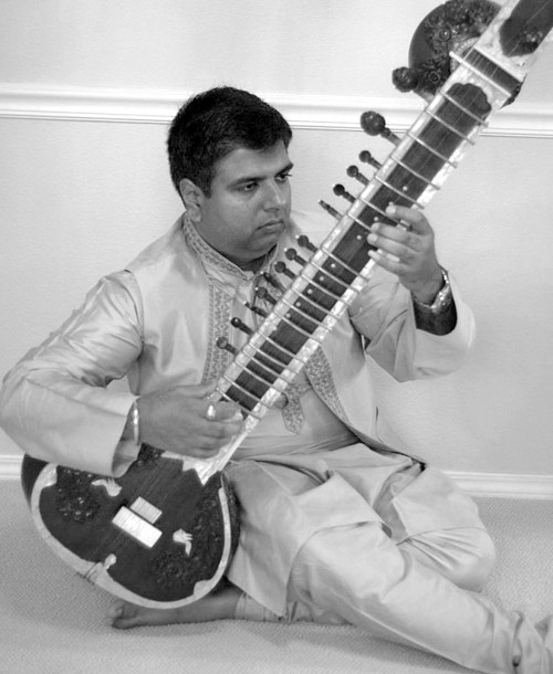 A virtuoso on sitar, Sandeep Koranne has been performing in public since the age of 10.