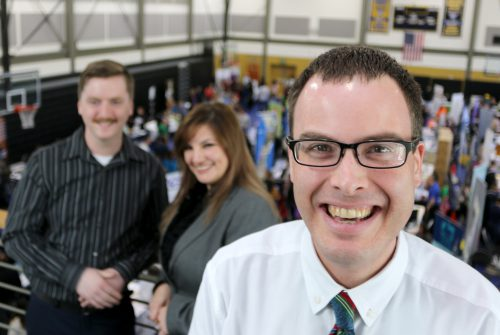 They are PCC students who are looking to network to explore their career options by attending the PCC Job Fair.