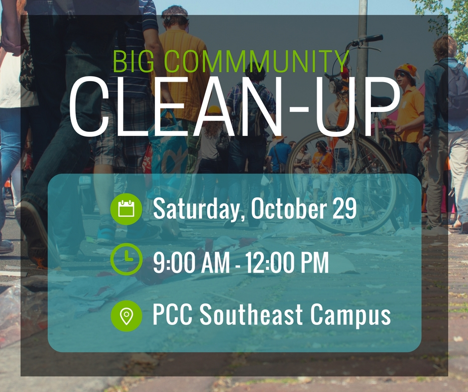 Sign Up For SE S Big Clean Up News At PCC