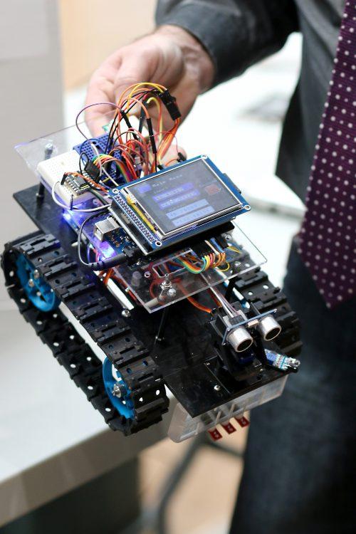Meet Johnny 2, the robot.
