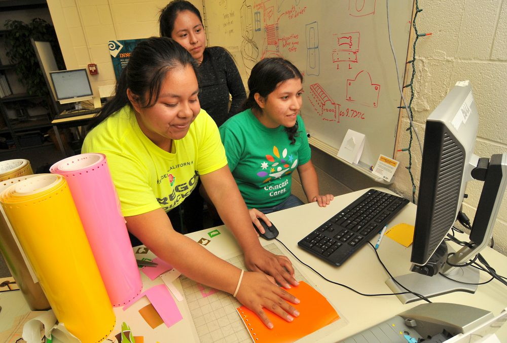 Campuses at PCC have a tradition of engaging women and minorities in the world of STEM.