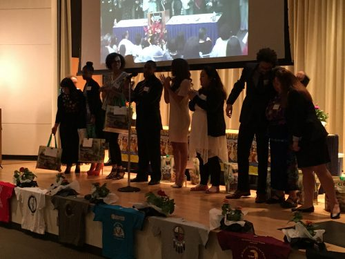 The PTP Class of 2016 takes a bow at last year's Celebration of Students.
