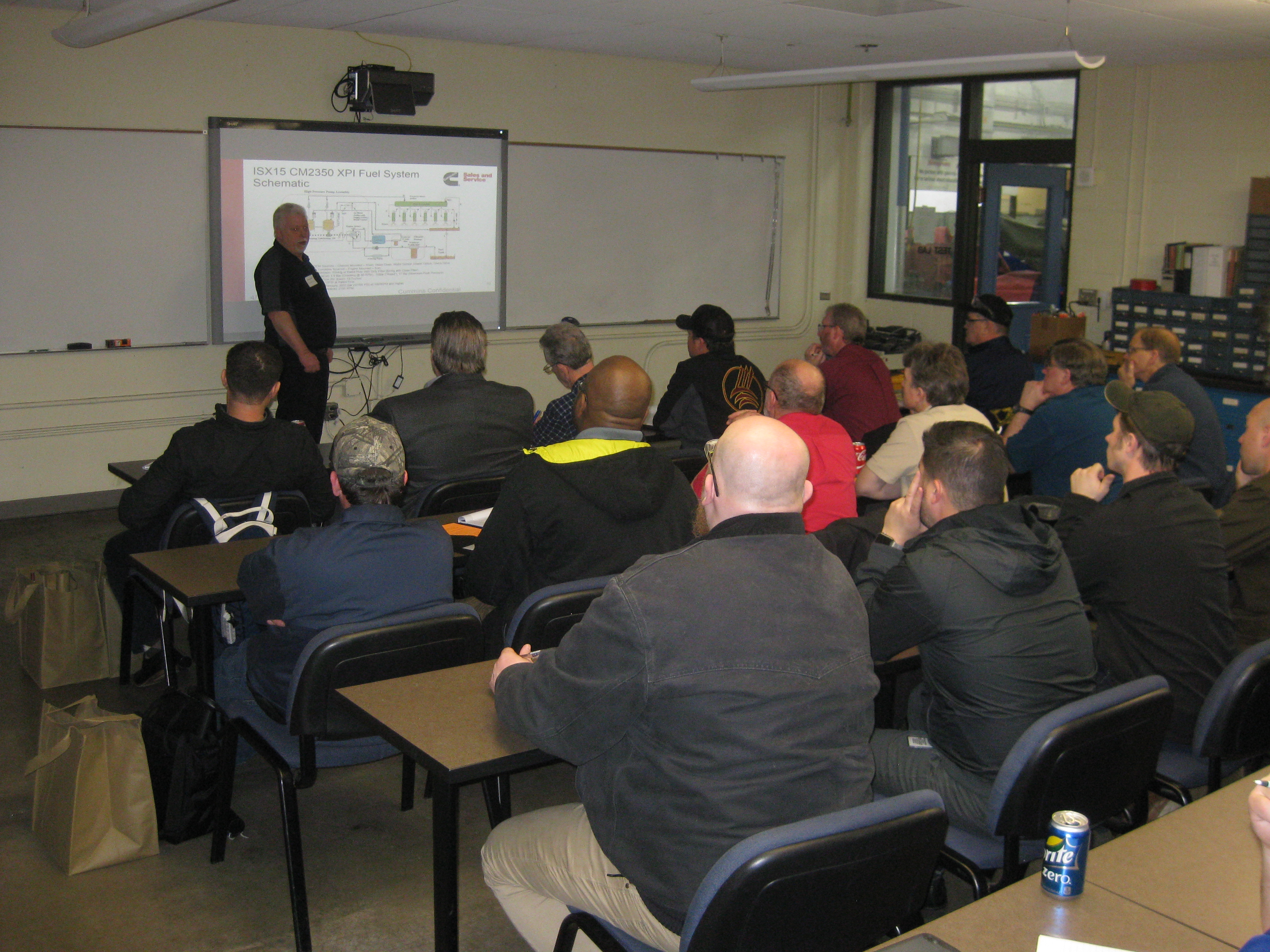 Diesel Instructors Become Students News At Pcc Electrical Schematic Classes Programs Are Constantly Upping Their Game To Stay Up Speed With Technologies That Advance Fuel Systems Hydraulics And