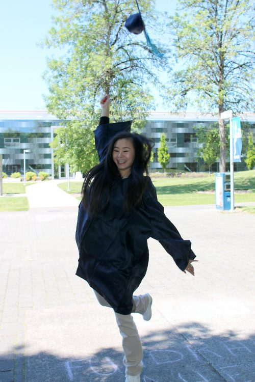 Detering overcame poverty in China to become an academic success at PCC.