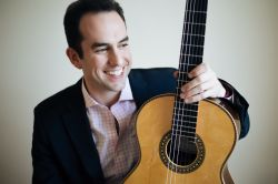 Adam Levin, classical guitarist.