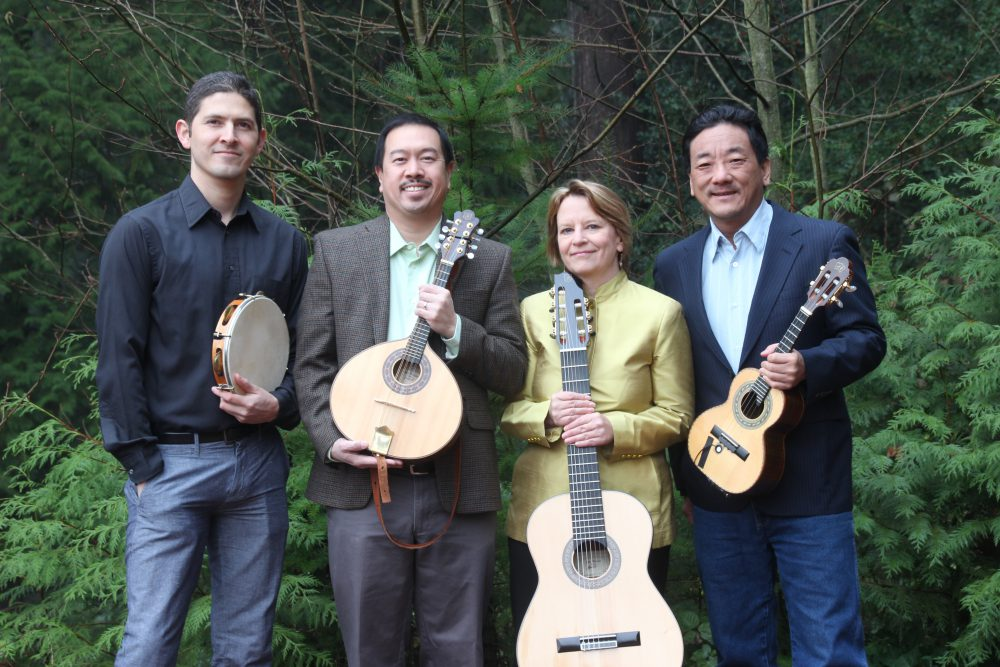 Choro da Alegria Quartet.