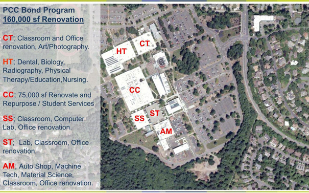 sylvania pcc campus map Sylvania Campus Outlines Upcoming Improvements To Neighbors And sylvania pcc campus map