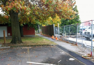 Moving Fences And Building New Walkways And Driveways For